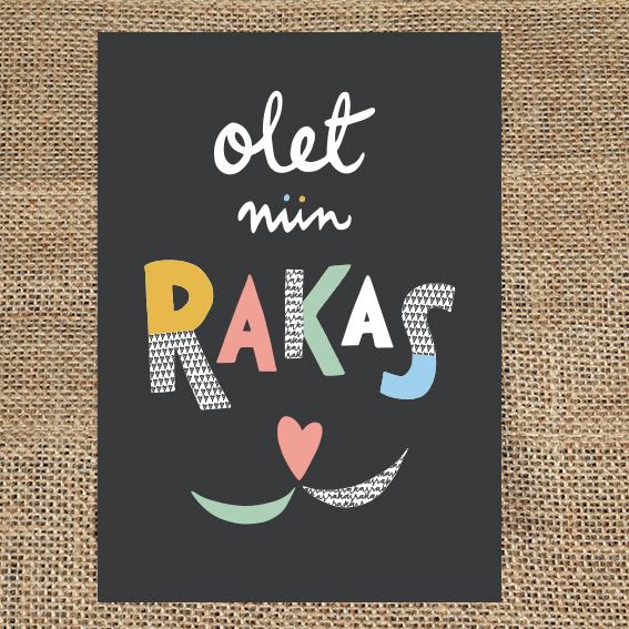 Olkalaukut Tampere : Kortti olet niin rakas ateljee keltainen talo